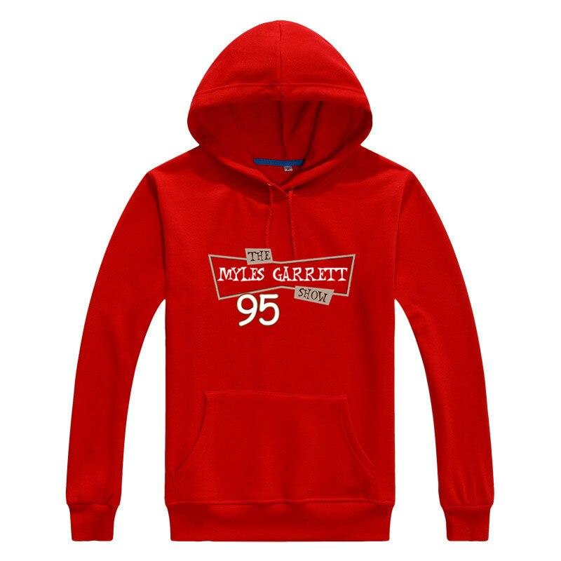 Asian size 2018 THE MYLES GARRETT SHOW Men warm Sweashirt Women hoodies for gfit 1010-3
