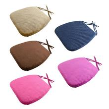 Home Office Decor Square Comfortable Cotton Seat Cushion Bar Chair Back Seat Cushions Sofa Pillow Buttocks Chair Cushion Solid for of home solid memory pair oval office pads cushions gripped black chair cotton anti slip armrest
