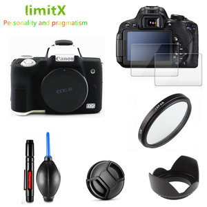 Image 1 - Чехол для фотоаппарата, чехол для защиты экрана от ультрафиолетовых лучей, 15 45 мм, для Canon EOS M50 Mark II M50MK2