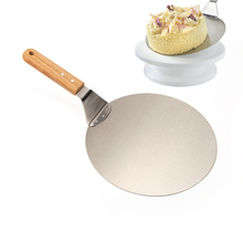 Edelstahl Kuchen Heber, Cookie Spachtel, Pizza Schälen, 10 Zoll Durchmesser-Für küchenwerkzeuge