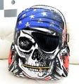 2016 New Personalized Bags School Backpack Feminina Skeleton Package Street Punk Bag Rock Pirate Skull Backpacks