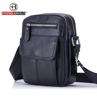 FEIDIKA BOLO Genuine Leather Bag Men Messenger Bags Men S Crossbody Bag Small Sacoche Homme Satchel