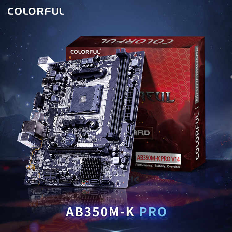 Colorful AMD AM4 DDR4  AB350  Desktop