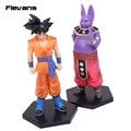 Dragon Ball Súper 2 unids/set Champa y Son Goku PVC Figuras de Colección Modelo Juguetes 17.5 cm