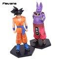 Dragon Ball Super 2 pçs/set Champa & Son Goku PVC Figuras Coleção Modelo Brinquedos 17.5 cm