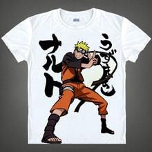 Naruto Cosplay Ninja Uchiha Itachi Short Sleeve T shirts Sasuke Kakashi Tee