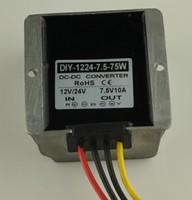 12V24V(10 40V)Step Down 7.5V 10A 75W DC DC Converter Buck Module Car Power Converter Supply Adapter Voltage Regulator Waterproof
