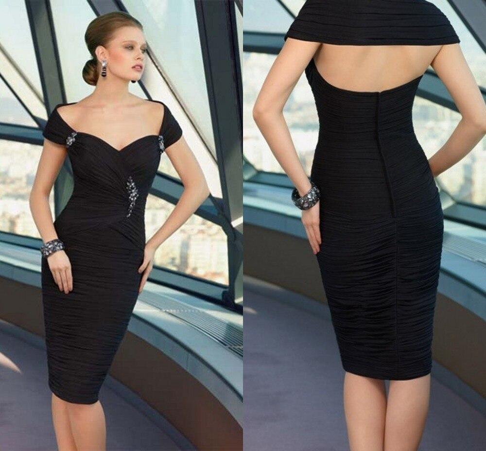 2016 Elegant Shoulder Pleats Evening Dress Formal