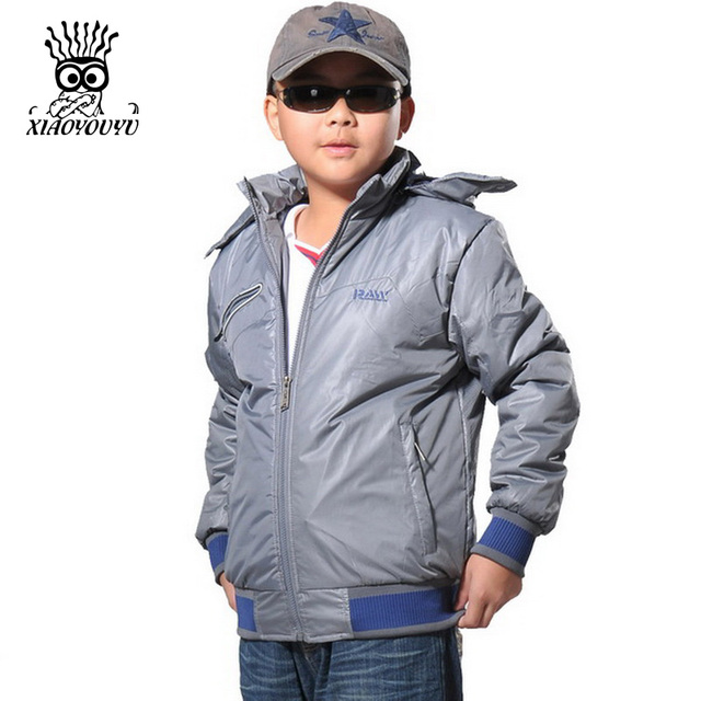 36d91fa37d8 XIAOYOUYU Plus Size 145-165 Hooded Design Children Outdoor Winter Jacket  Best Selling Good Quality Kids Boy Fashion Casual Coat