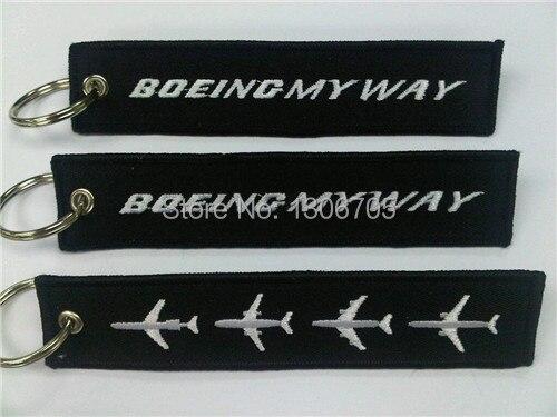 Вышивка Boeing My Way брелок