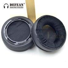 Almohadillas para los oídos de terciopelo más grueso, suaves, para Hifiman, serie HE, piezas para auriculares