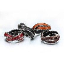 Панк мода мужская браслет кожа сплошной цвет уникальный мужской аксессуар крест ремни подарок