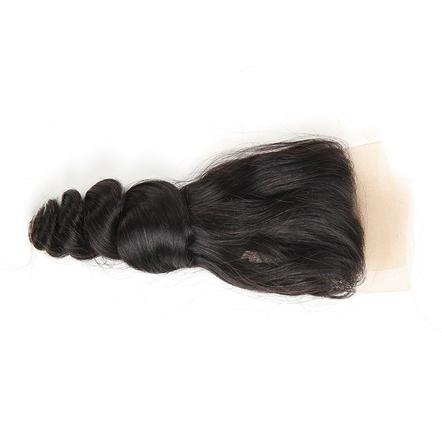 Ali Berrys Hair Loose Wave 13×4 Ear To Ear Lace Frontal Closure Brazilian Hair 10-20 Inch 120% Density Closure Free Shipping
