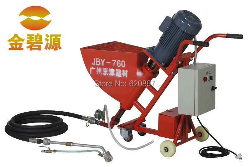 Mortar Spray Machines Mail: JBY760 Mortar Cement Mortar Spraying Machine Perfusion