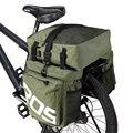 ROSWHEEL 3 в 1 велосипед 35Л дорожный велосипед MTB задняя стойка сумка новая велосипедная багажная сумка армейский зеленый велосипед Паньер с дож...