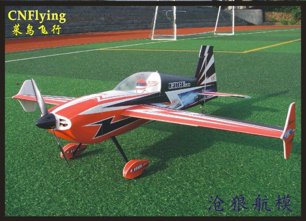 Oyuncaklar ve Hobi Ürünleri'ten RC Uçaklar'de SKYWING YENI PP malzeme UÇAK RC 3D uçak RC MODEL HOBI OYUNCAKLAR kanat açıklığı 1395mm 50E KENAR 540 T 3D uçak KITI'da  Grup 1