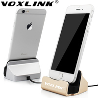 VOXLINK 2016 New Dock Charger Sync Data Docking Station Charging Desktop Cradle Stand For Iphone 5