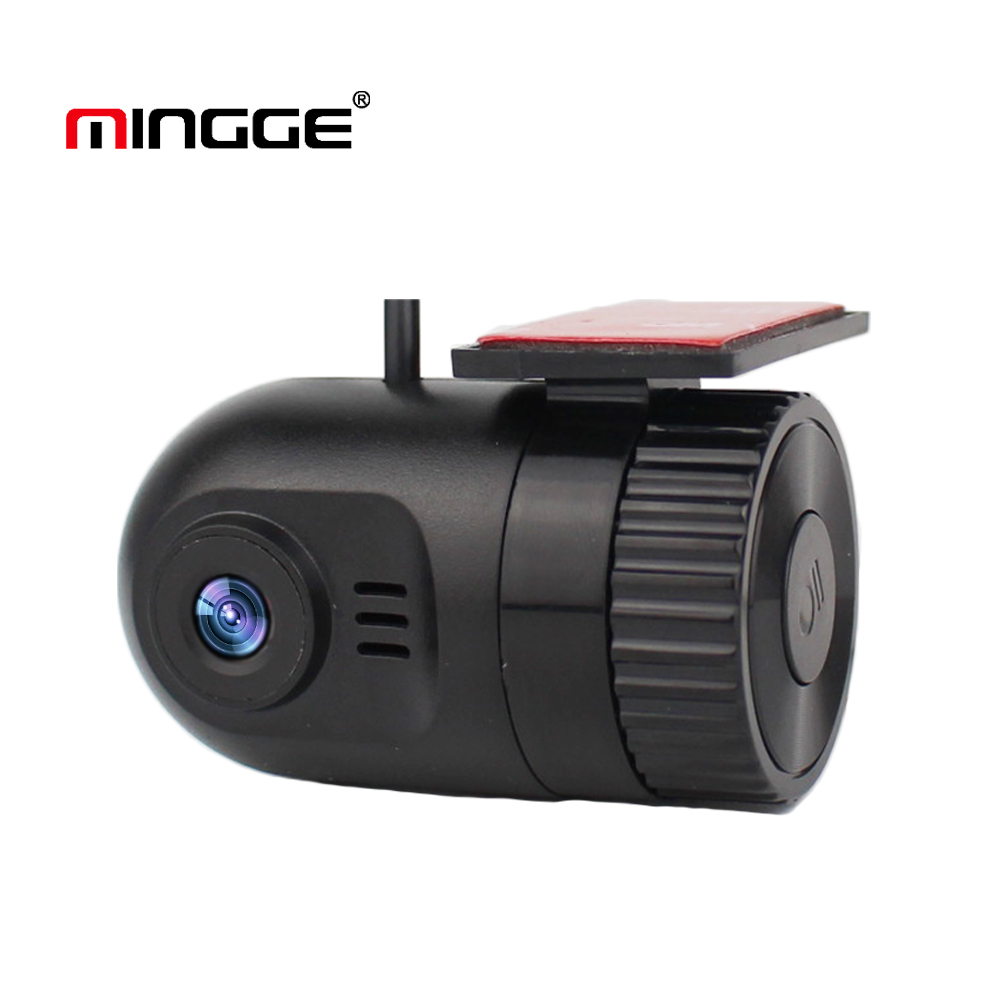 MINGGE Mini Car DVR Dash Cam 720P Full HD Car DVR Night Version G-Sensor Driving Recorder