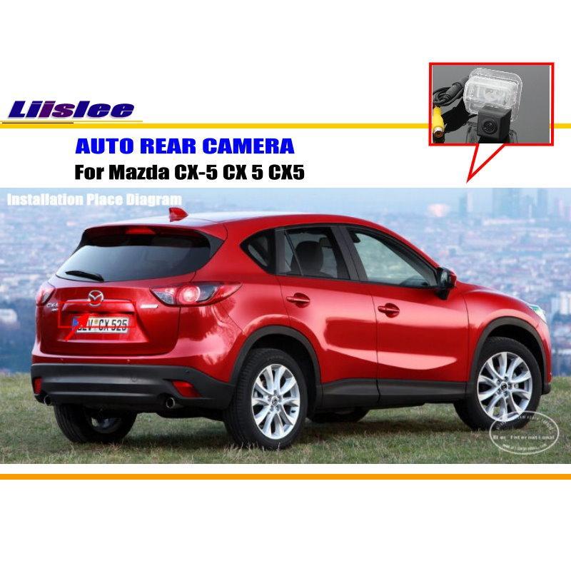 Liislee камера заднего вида для Mazda CX-5 CX 5 CX5C/камера заднего вида/HD CCD RCA NTST PAL/светильник номерного знака
