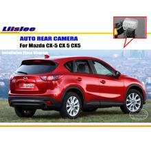 Car Rear View Camera / Back Up Reverse Parking Camera For Mazda CX-5 CX 5 CX5 2012~2015 License Plate Lamp / HD CCD Night Vision фаркоп mazda cx 5 без электрики 2012 2015 тип шара а