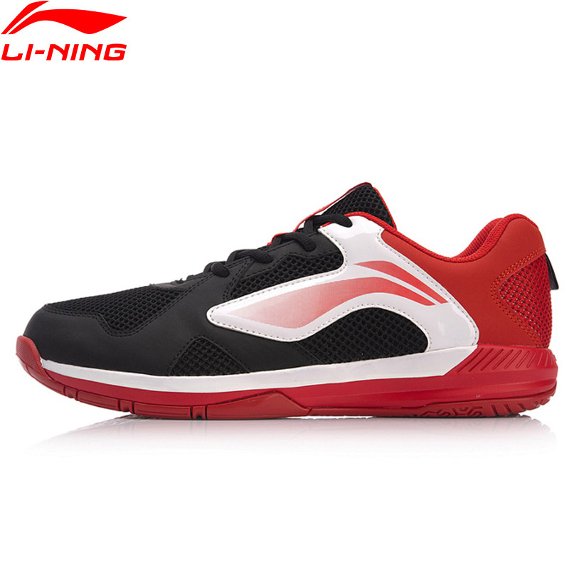 Li Ning Men RAPIDLY Badminton Training Shoes Breathable Wearable LiNing Anti Slippery Sport Shoes Sneakers AYTN051
