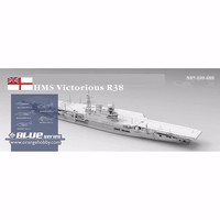 Orange Hobby N07100680 1 700 HMS Victorious R38 1966 Aircraft Carrier Assembly Scale Military Ship Model