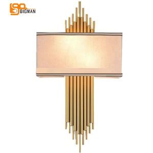 Image 1 - Hoge Kwaliteit Goud Wandlamp Moderne Zwart Wit Wandlampen Voor Home Decor