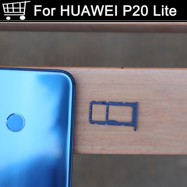 Huawei P20 Lite Sim Karte.Neue Fur Huawei P20 P 20 Lite Nano Sim Micro Karte Tray Halter Slot Sockel Ersatz P20lite Sim Karte