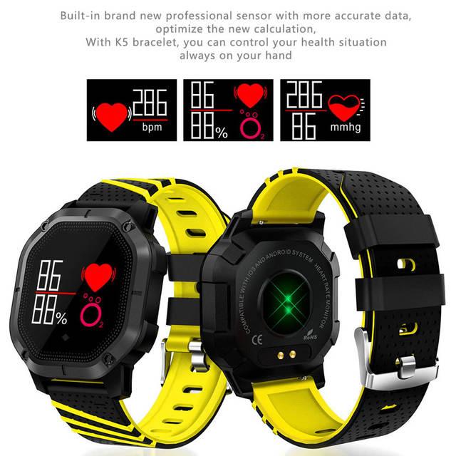2019 New IP68 Waterproof Male Watch Sports Smart Watch Men
