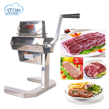 ITOP Stainless Steel Fresh Meat Tenderizer Cutting Machine 7WIDE 37*2 20*2 14*2 Knives MTS7