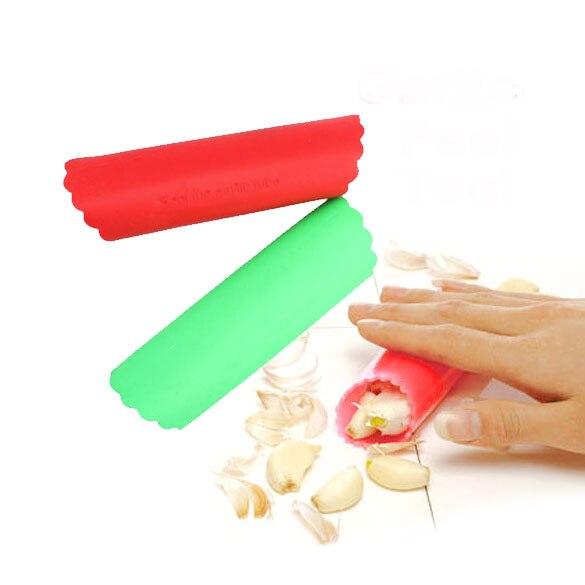 Silicona Magic Ajo Peeler Peel Fácil Herramienta Gadgets de Cocina Comedor (Col