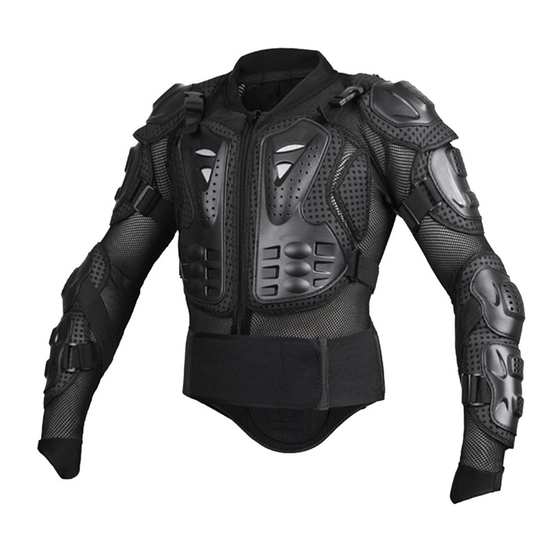 Black Motorcycles Armor Protection Motocross gear Clothing Jacket Protector Moto Cross Back Armor Protector Motorcycle Jackets