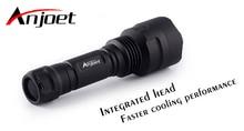 New Anjoet C8 Cree XML2 U2-1A LED Flashlight,torch,lantern,lanterna bike ,self defense,camping light, lamp,for bicycle For 18650