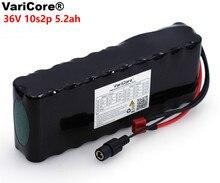 Varicore 36 v 5.2Ah 10S2P 18650 充電式バッテリー 5200 mah 、変更バイク、電気自動車 42 v 回路基板保護