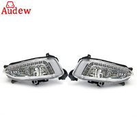 1Pair LED Car Light Assembly DRL Daytime Running Light Fog Lamp For Hyundai IX45 Santa Fe