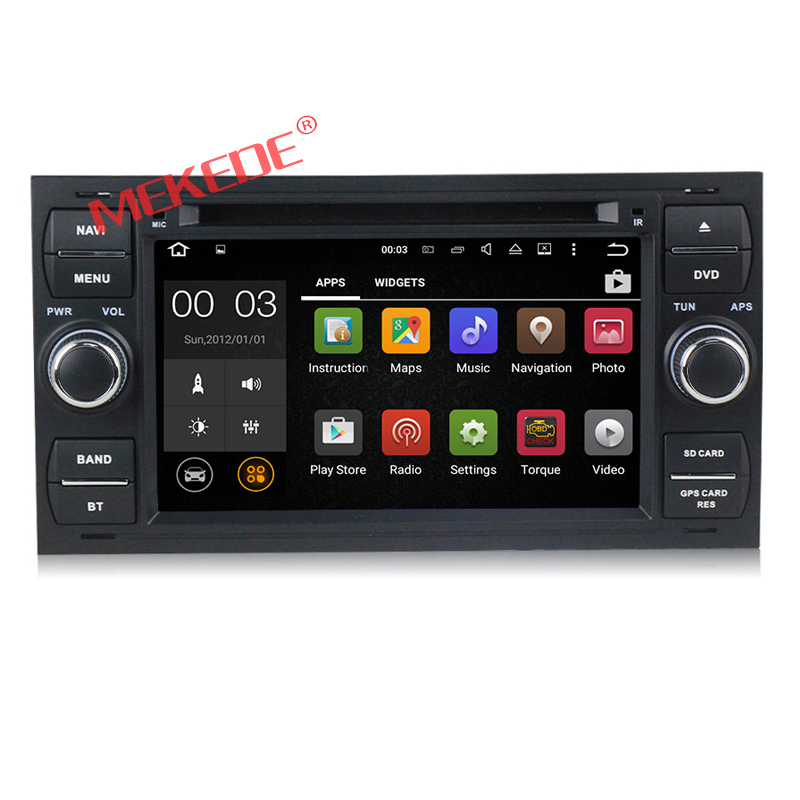 Android5.11 Car Multimedia player for old Focus 2 /Old Mondeo/Fiesta/C-max/S-max/Kuga 7inch HD screen with GPS Navigator DVD