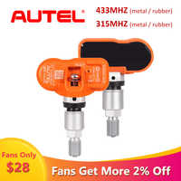Autel 433MHZ MX-SENSOR Tire Pressure Monitoring Car TPMS Sensor Tire Pressure Monitor Pressure System TPMS for Replacement