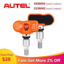 Autel 433MHZ MX-SENSOR Tire Pressure Monitoring Car TPMS Sensor Tire Pressure Monitor Pressure System TPMS for Replacement цена 2017