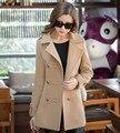 Mulheres casaco de inverno preto sobretudo poncho casaco feminino abrigos mujer invierno 2016 manteau femme manteau casaco feminino vermelho