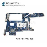 NOKOTION For Lenovo Y470 Y471A Laptop Motherboard QIQY2 LA 6884P MAIN BOARD HM65 DDR3 HD6770M 1GB Video card