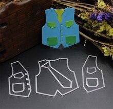 ZhuoAng Childrens suit design cutting mold DIY clip art album decoration transparent sealing paper card