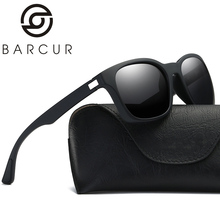 BARCUR Brand 2017 New Polarized Sunglasses Men Fashion Male Eyewear Sun Glasses Travel Oculos Gafas De Sol BC0921