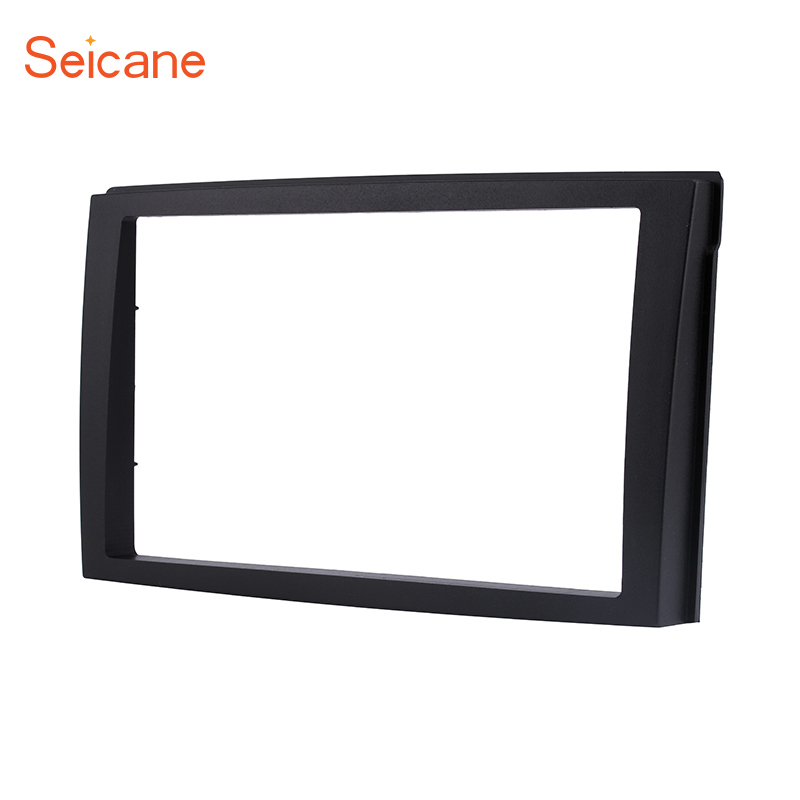Seicane 2 Din Car DVD Panel Frame <font><b>Dash</b></font> <font><b>Kit</b></font> Plate 173*98 178*100 178*102mm Installation <font><b>Radio</b></font> Fascia Frame for 2002 <font><b>Mazda</b></font> Premacy image