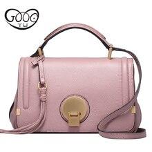 цены Women Messgeger Bag 100% Genuine Leather Flap Shoulder Bags Female Bag High Quality Real Skin Handbags Camera Bag Bolsa Feminina
