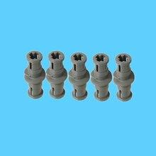5Pcs/Lot Parts Technic Worm Gear 3L with Bush Ends MOC Building Blocks Bricks Mechanical DIY Assembles Children Toys