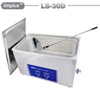 Limplus 30L Golf Club Digital Ultrasonic Cleaner Industrial Ultrasonic Washing Machine SUS304 Material