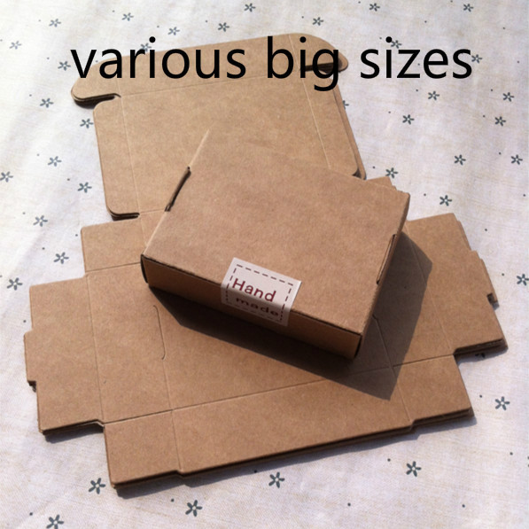 Us 16 5 50pcs Lot Kraft Paper Aircraft Gift Boxes Handmade Soap Packing Box Jewelry Cake Handicraft Candy Storage Paper Boxes In Jewelry Packaging