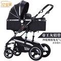 Marcas cochecito de bebé 3 en 1 cochecito para niños coche poussette cochecito de dos vías del bebé cochecito del paraguas carro bebek arabas
