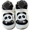 8 pares/lote 100% couro de sola macia sapatos de bebê primeiros walker dr0007-48