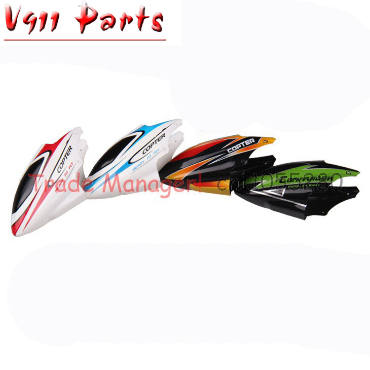 Free shipping + Wholesale spear parts Head Cover for v911 RC Helicopter